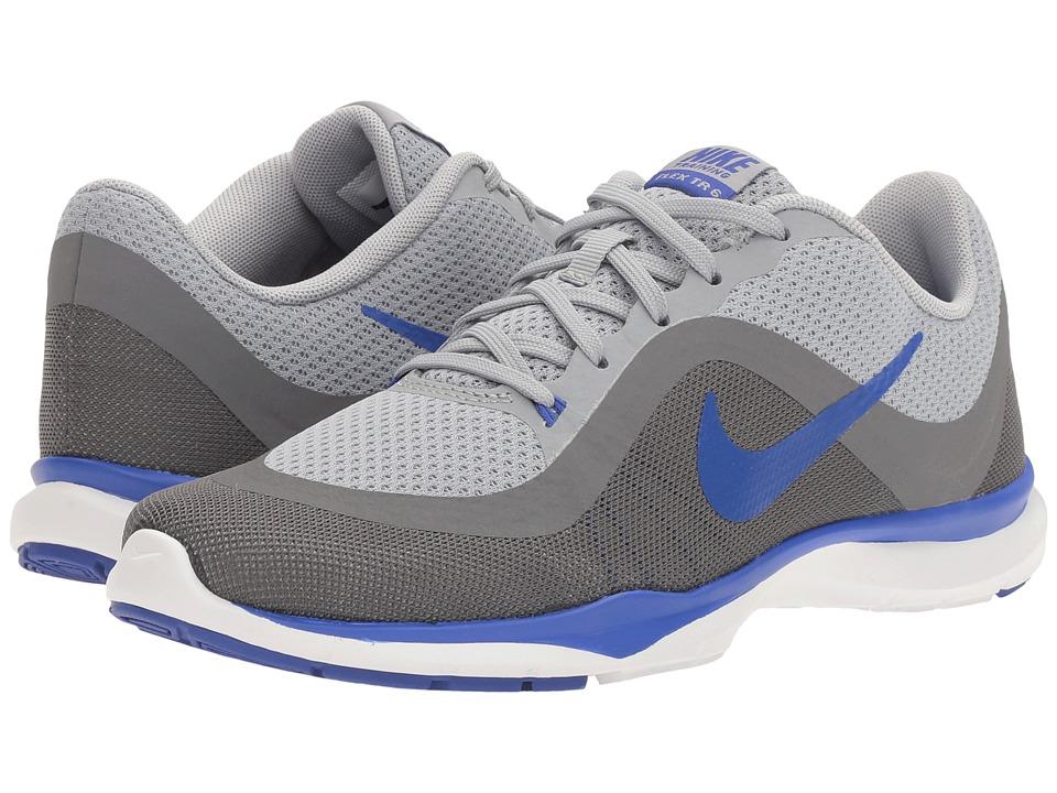 Nike Flex Trainer 6 (Wolf Grey/Paramount Blue/Cool Grey) Women