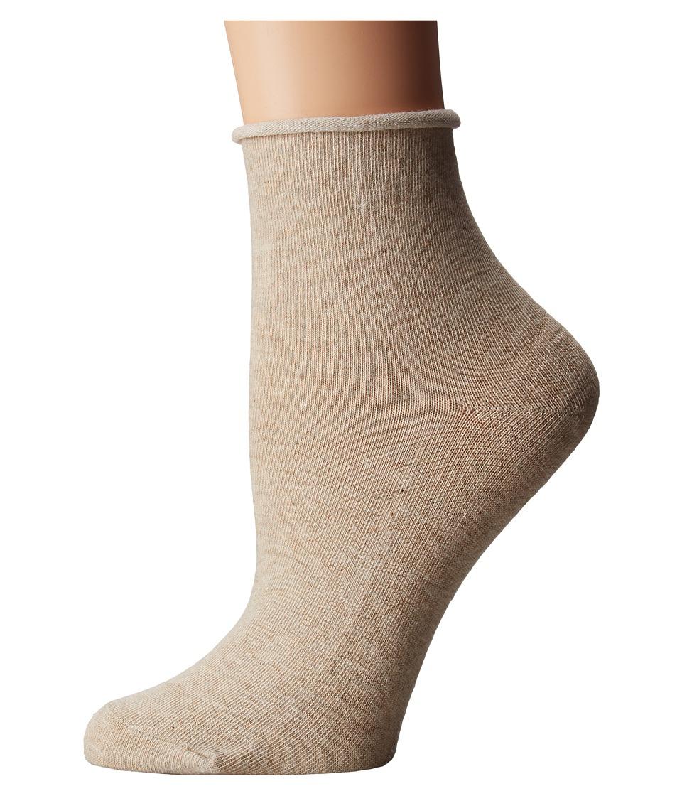 Richer Poorer - Helena Ankle (Oatmeal) Women's Crew Cut Socks Shoes