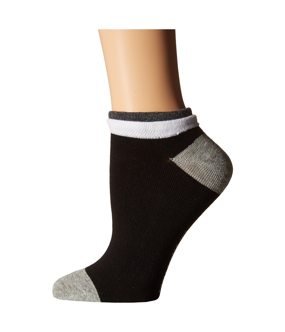 Richer Poorer - Cassat Low Show (Black) Women's Crew Cut Socks Shoes