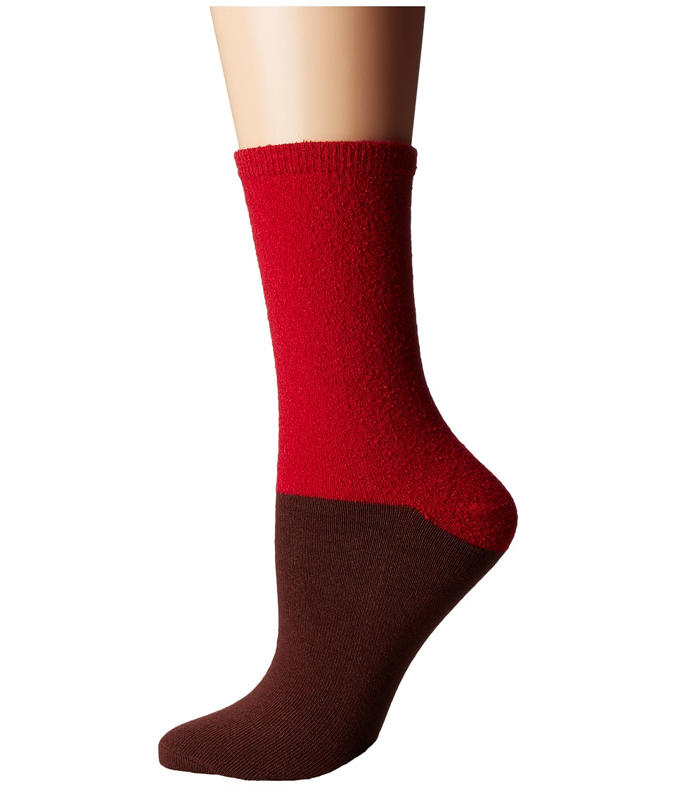 Richer Poorer - Marine (Red/Brown) Women's Crew Cut Socks Shoes