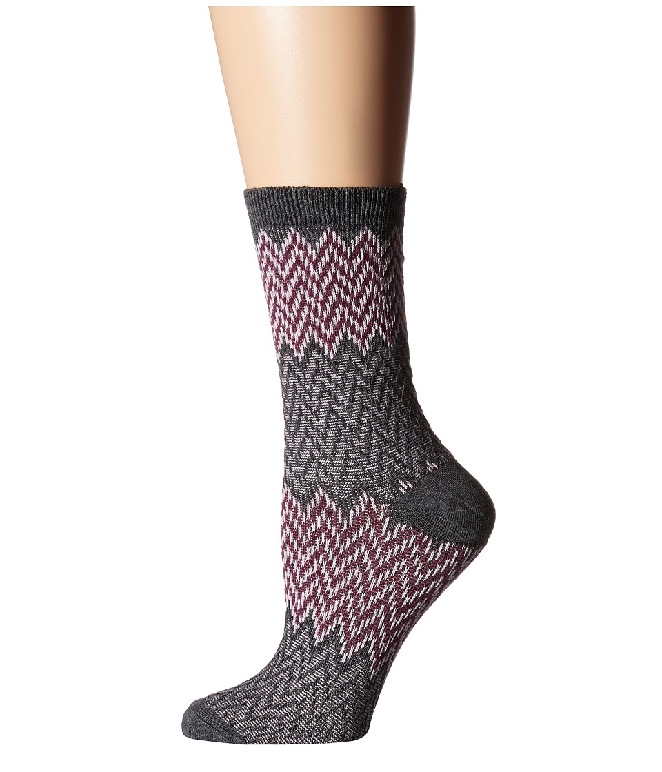 Richer Poorer - Current (Charcoal) Women's Crew Cut Socks Shoes