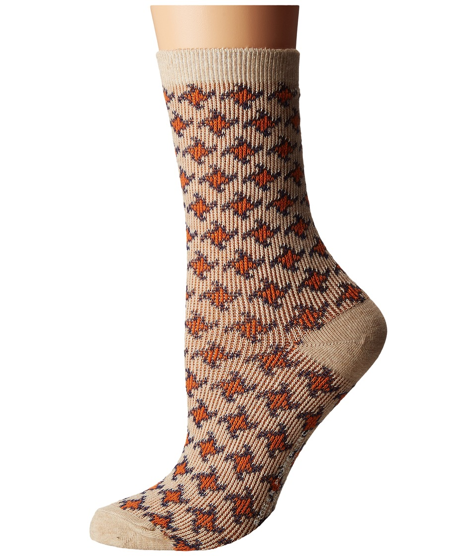 Richer Poorer - Siren (Oatmeal) Women's Crew Cut Socks Shoes