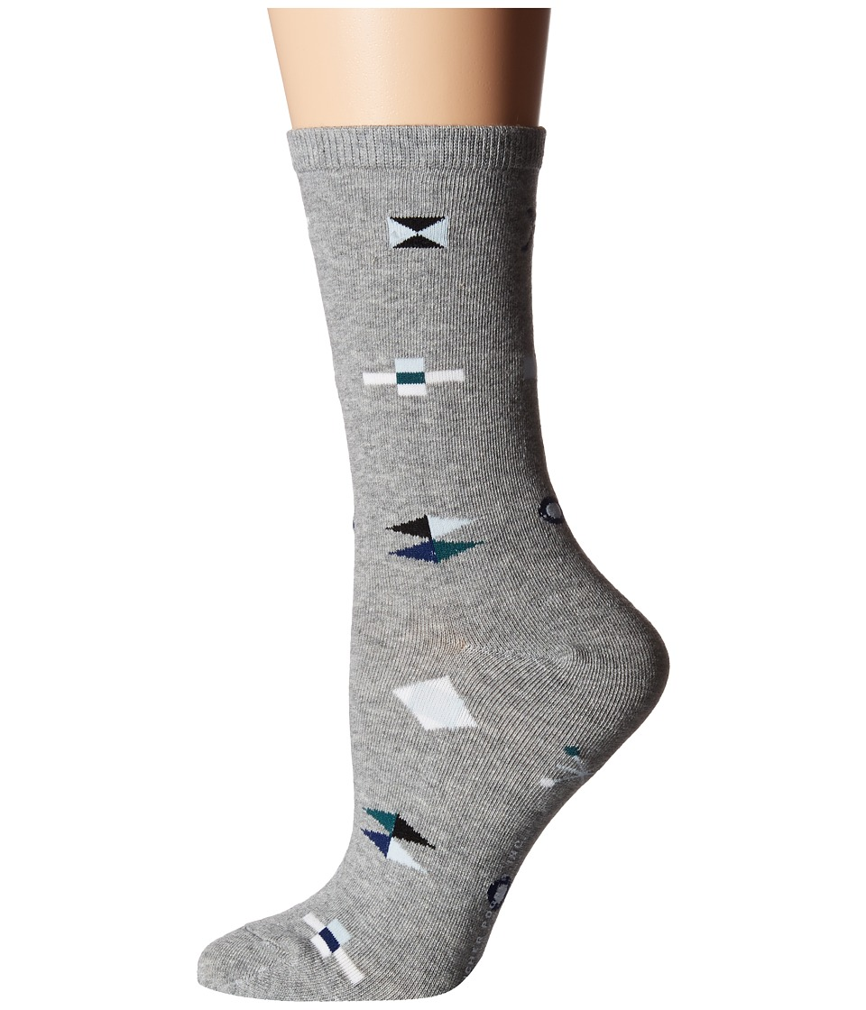 Richer Poorer - Brig (Heather Grey) Women's Crew Cut Socks Shoes