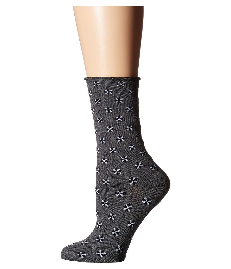 Richer Poorer - Pismo (Charcoal) Women's Crew Cut Socks Shoes
