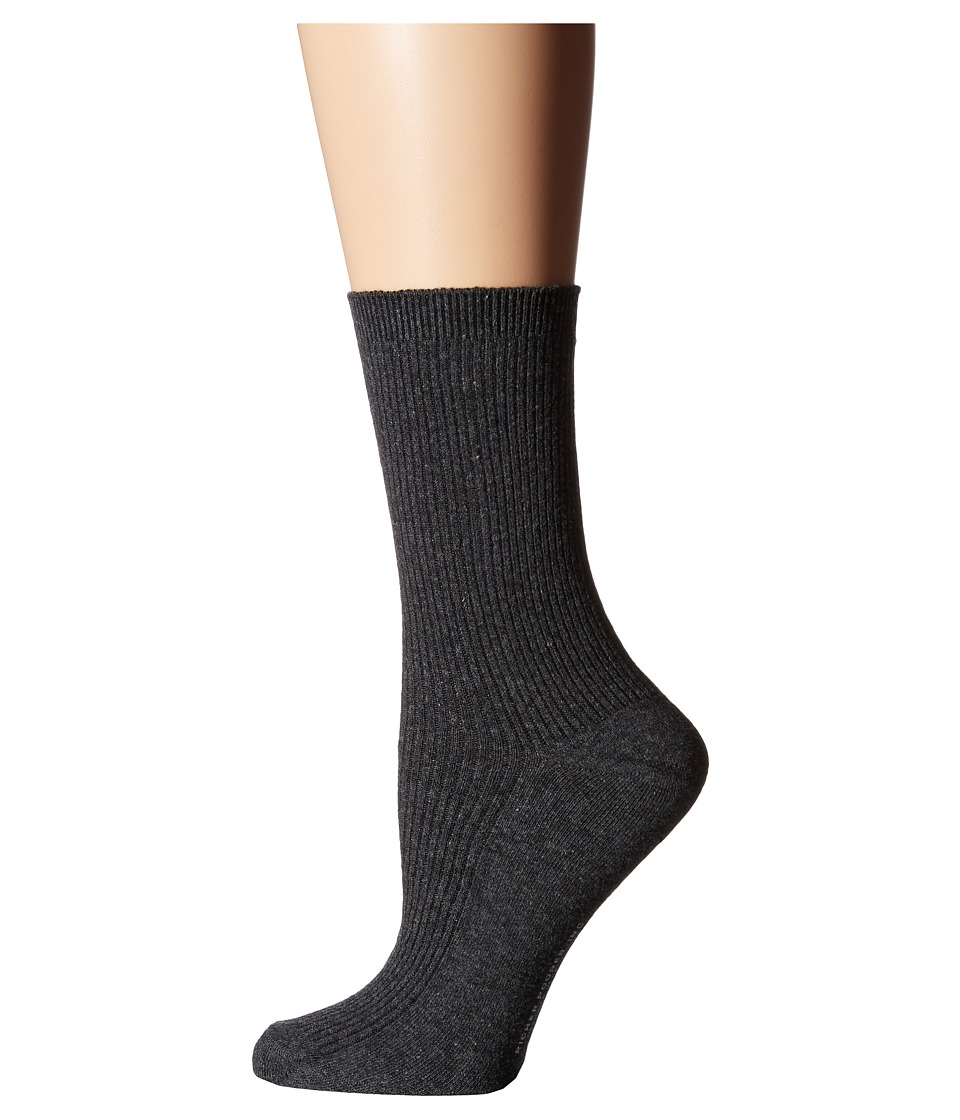 Richer Poorer - Nightingale (Charcoal) Women's Crew Cut Socks Shoes