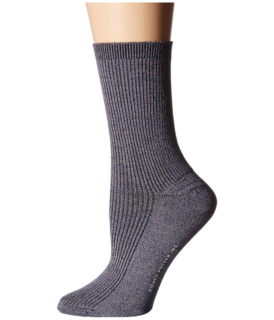 Richer Poorer - Nightingale (Navy) Women's Crew Cut Socks Shoes