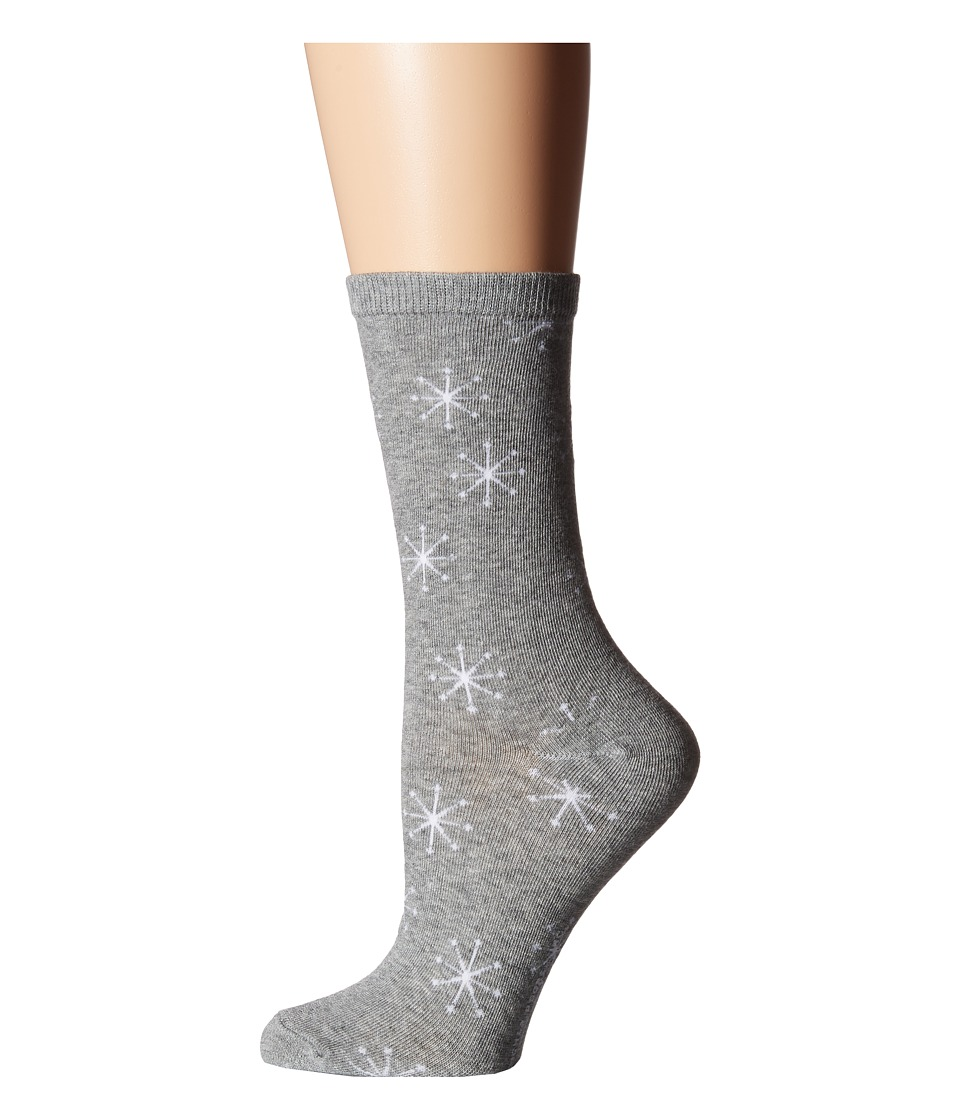 Richer Poorer - Starboard (Heather Grey) Women's Crew Cut Socks Shoes