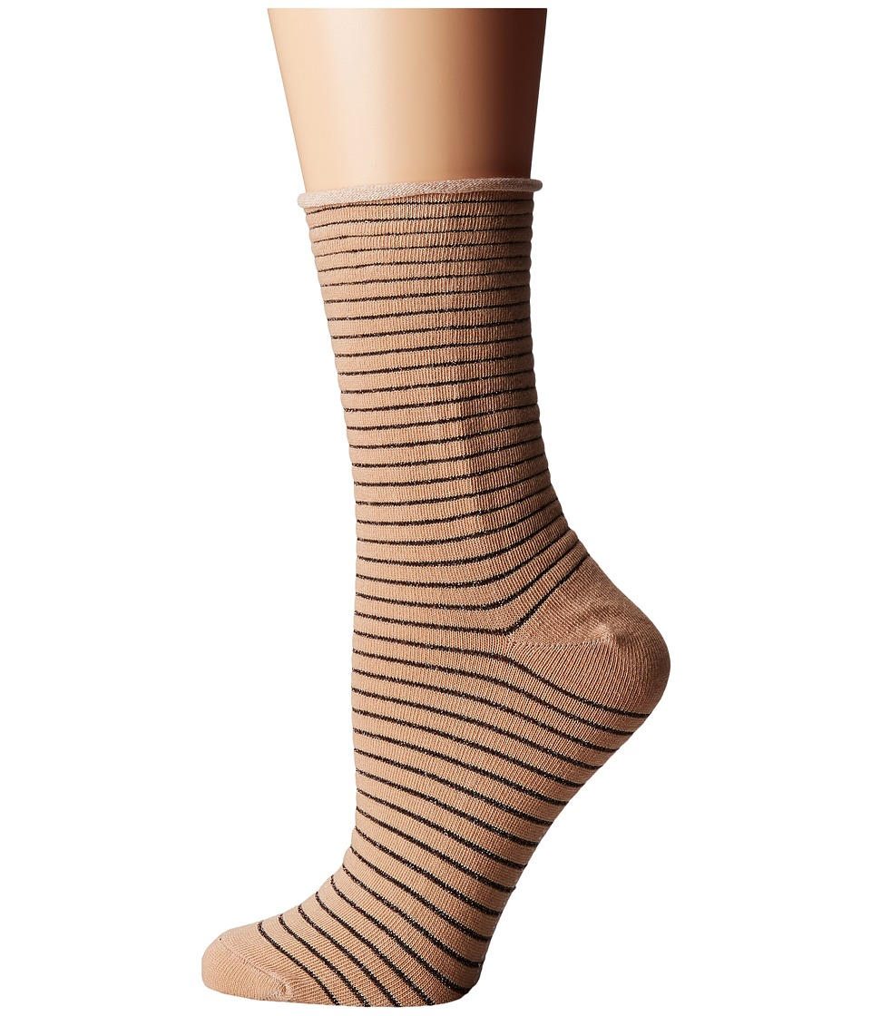 Richer Poorer - Hari (Tan) Women's Crew Cut Socks Shoes