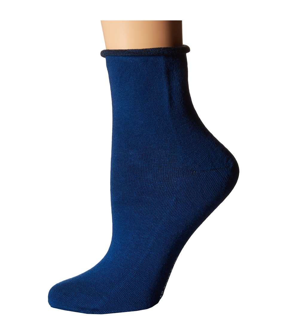 Richer Poorer - Helena Ankle (Blue) Women's Crew Cut Socks Shoes