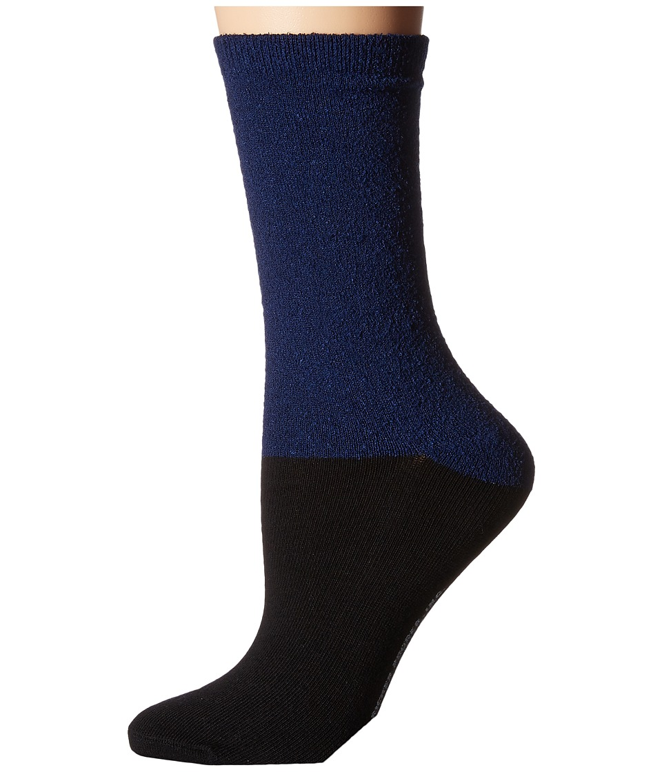 Richer Poorer - Marine (Navy/Black) Women's Crew Cut Socks Shoes
