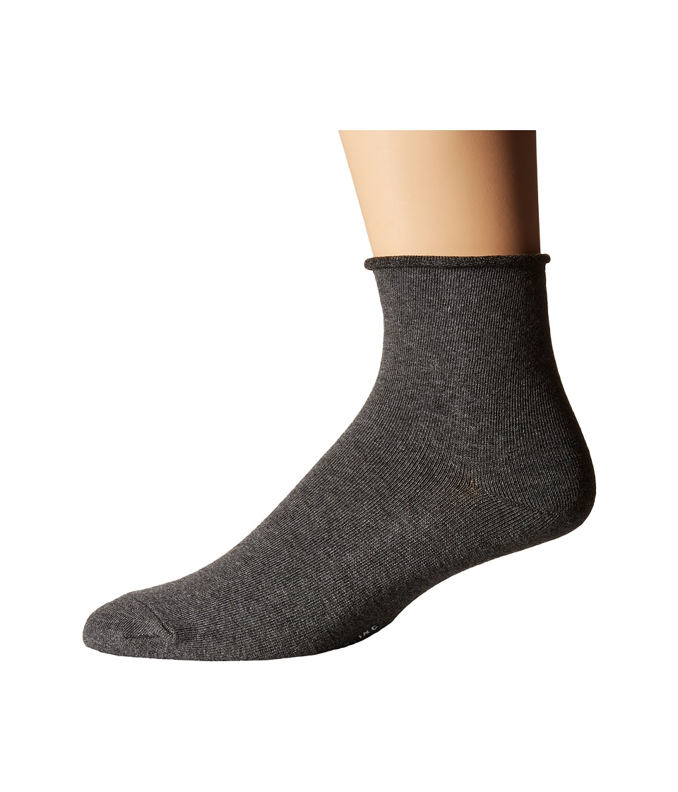 Richer Poorer - Helena Ankle (Charcoal) Women's Crew Cut Socks Shoes
