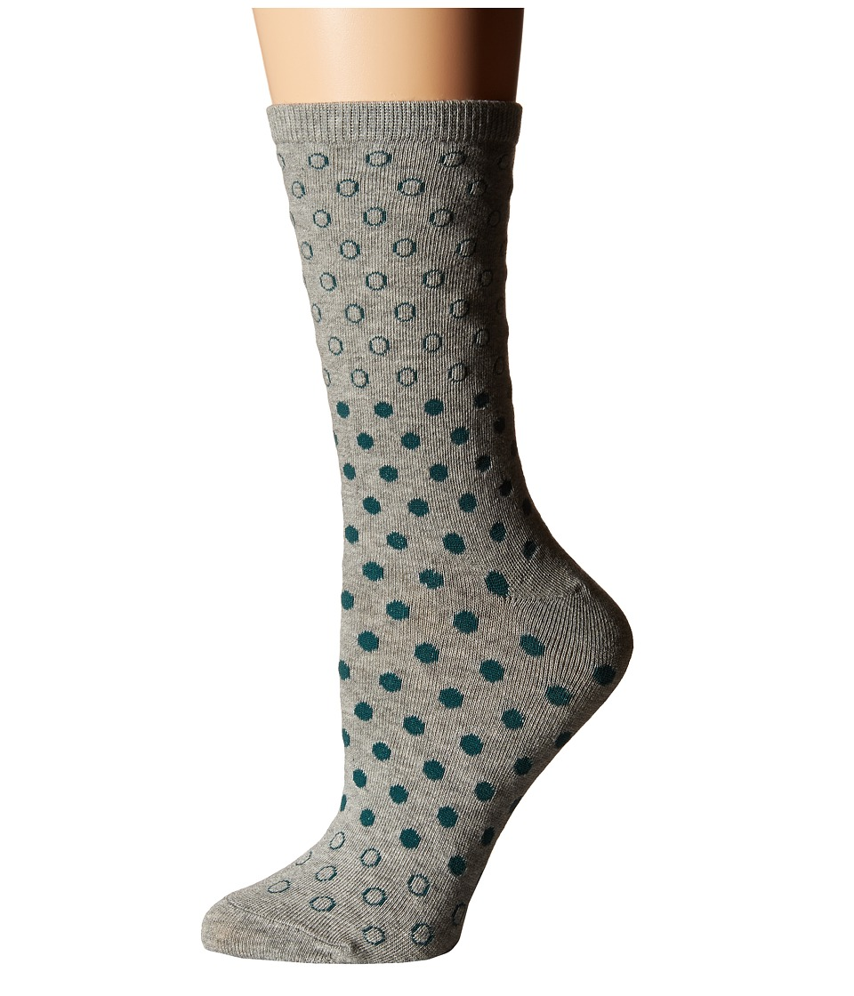 Richer Poorer - Oakum (Heather Grey) Women's Crew Cut Socks Shoes