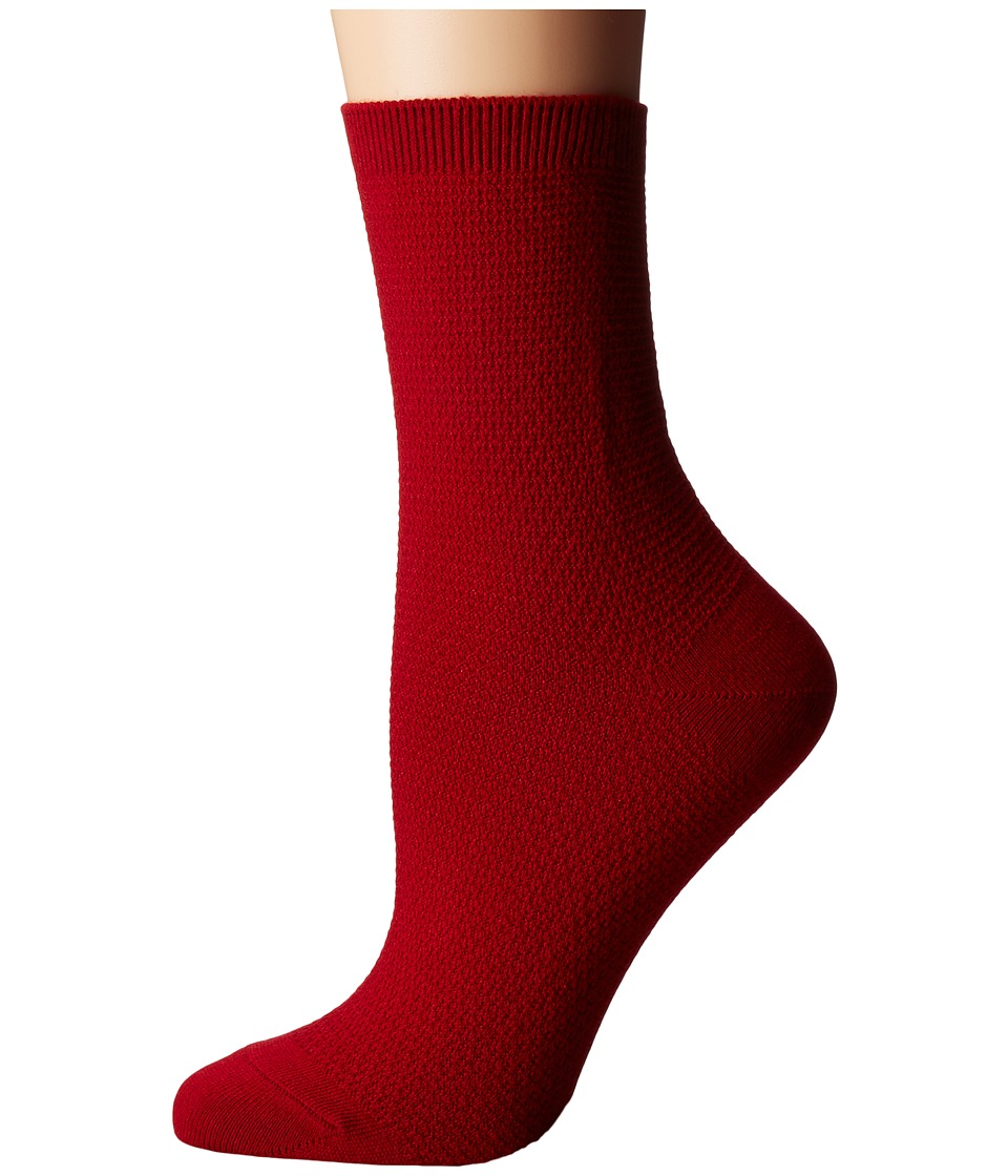 Richer Poorer - Yucca (Red) Women's Crew Cut Socks Shoes