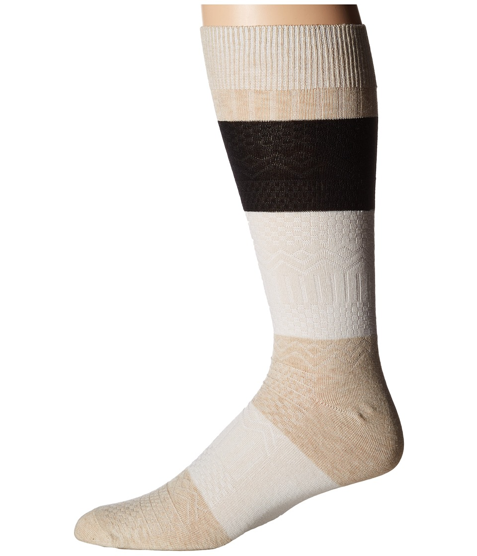 Richer Poorer - Gilgamesh (Oatmeal Multi) Men's Crew Cut Socks Shoes