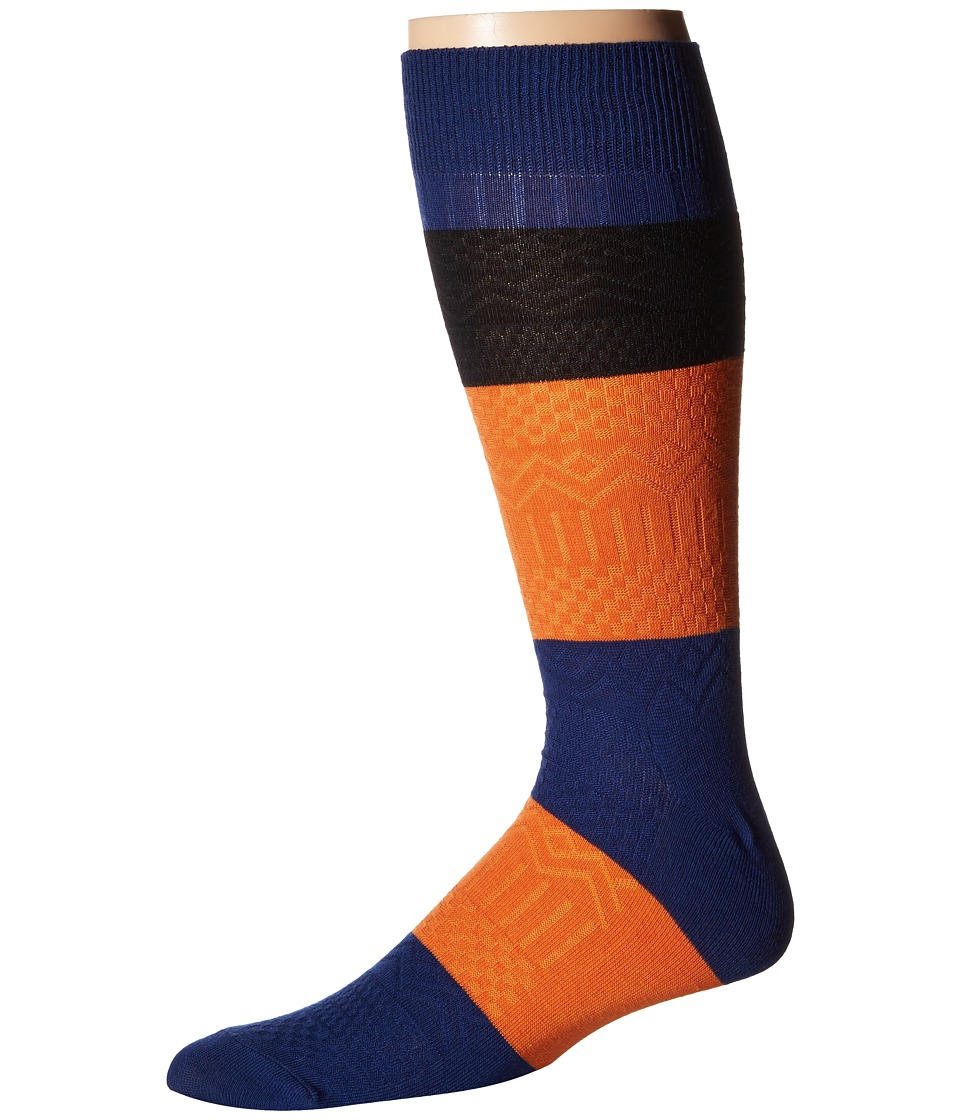 Richer Poorer - Gilgamesh (Navy Multi) Men's Crew Cut Socks Shoes