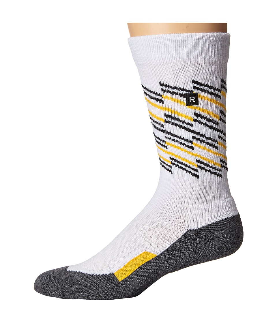 Richer Poorer - Sportif Athletic (White) Men's Crew Cut Socks Shoes