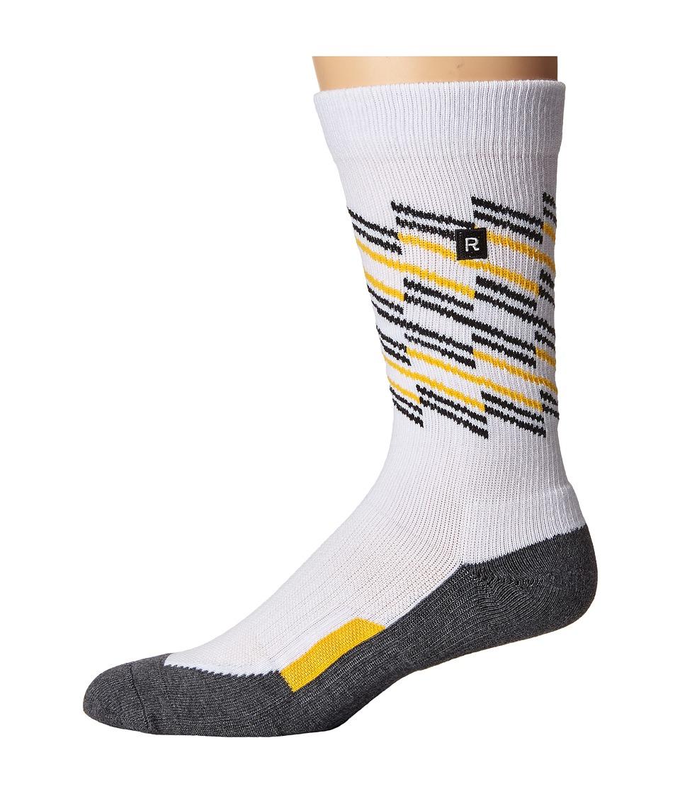 Richer Poorer - Sportif Athletic (White) Men's Crew Cut Socks Shoes