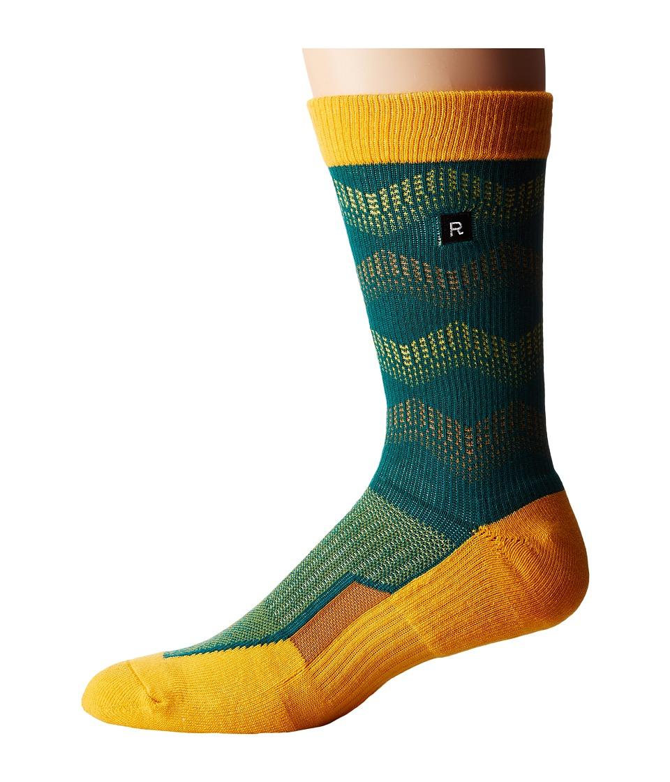 Richer Poorer - Schulz Athletic (Green) Men's Crew Cut Socks Shoes