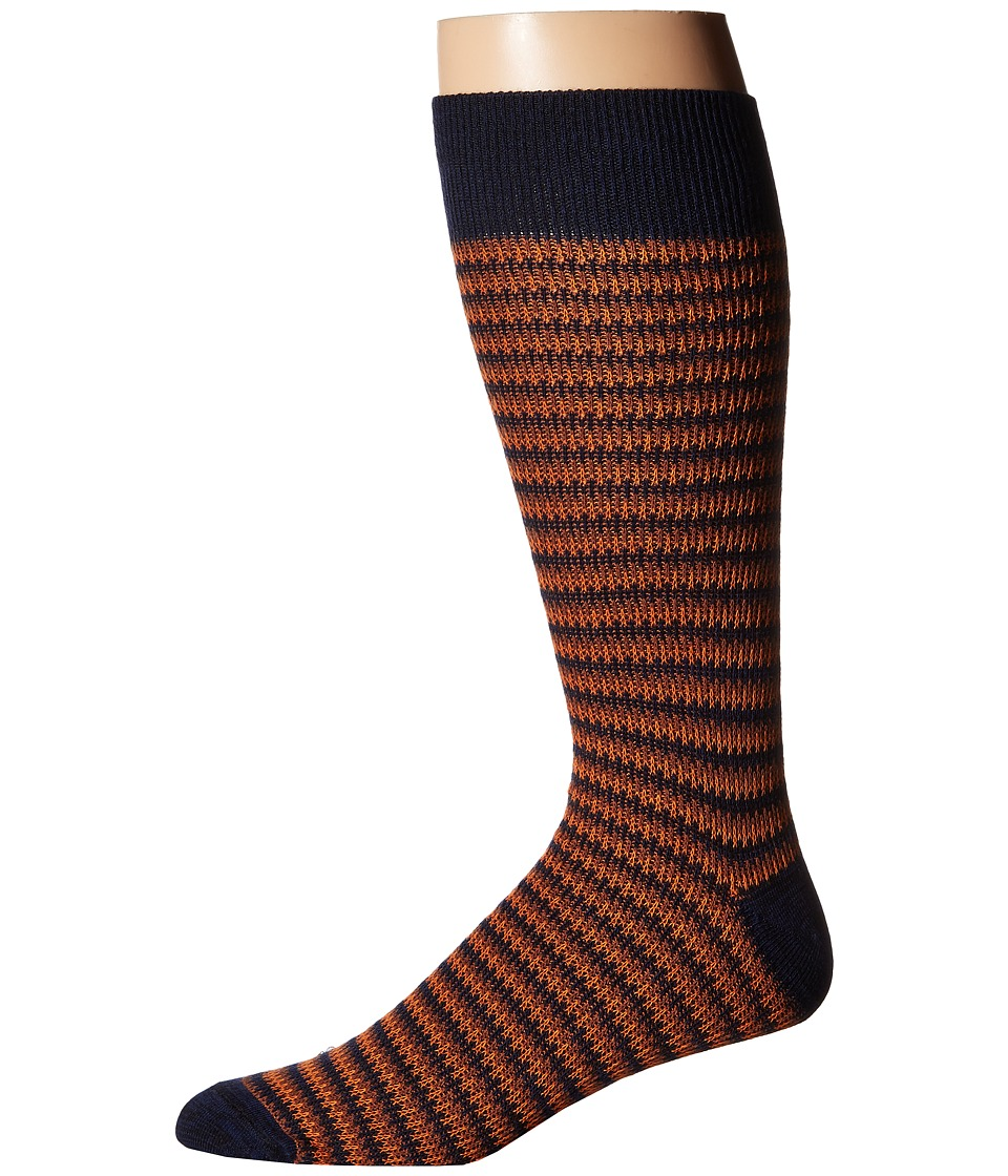 Richer Poorer - Lobos (Navy) Men's Crew Cut Socks Shoes