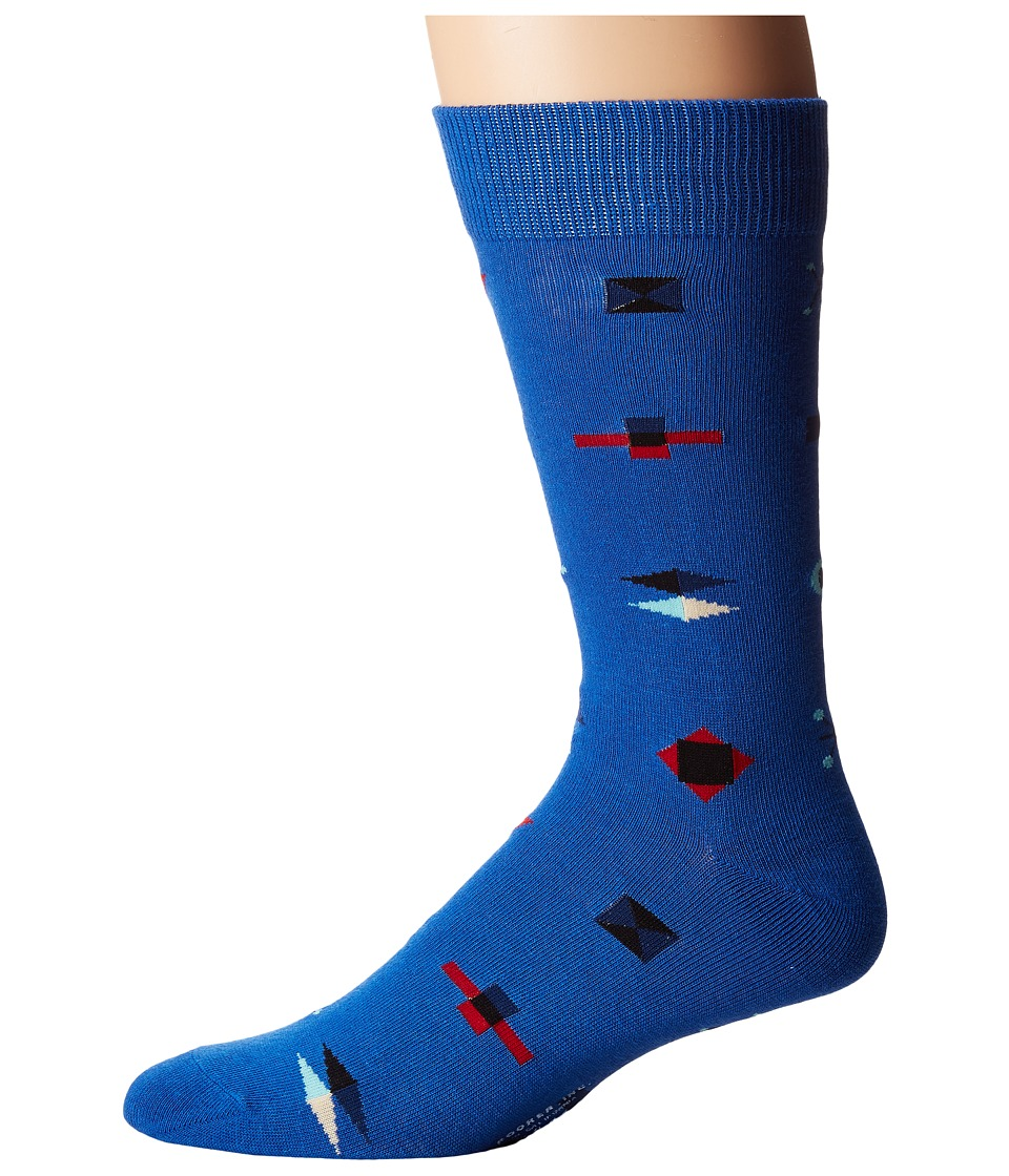 Richer Poorer - Brig (Blue) Men's Crew Cut Socks Shoes