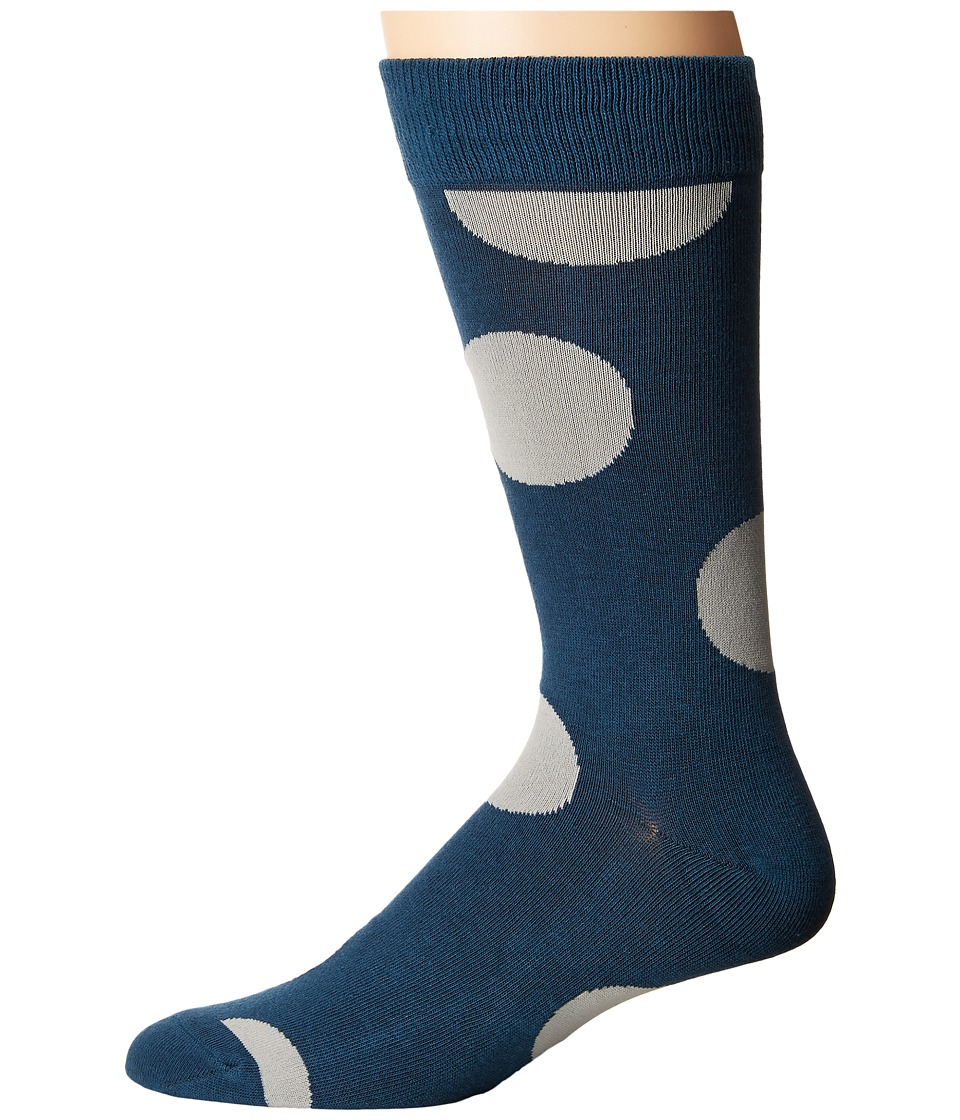 Richer Poorer - Herald (Teal) Men's Crew Cut Socks Shoes