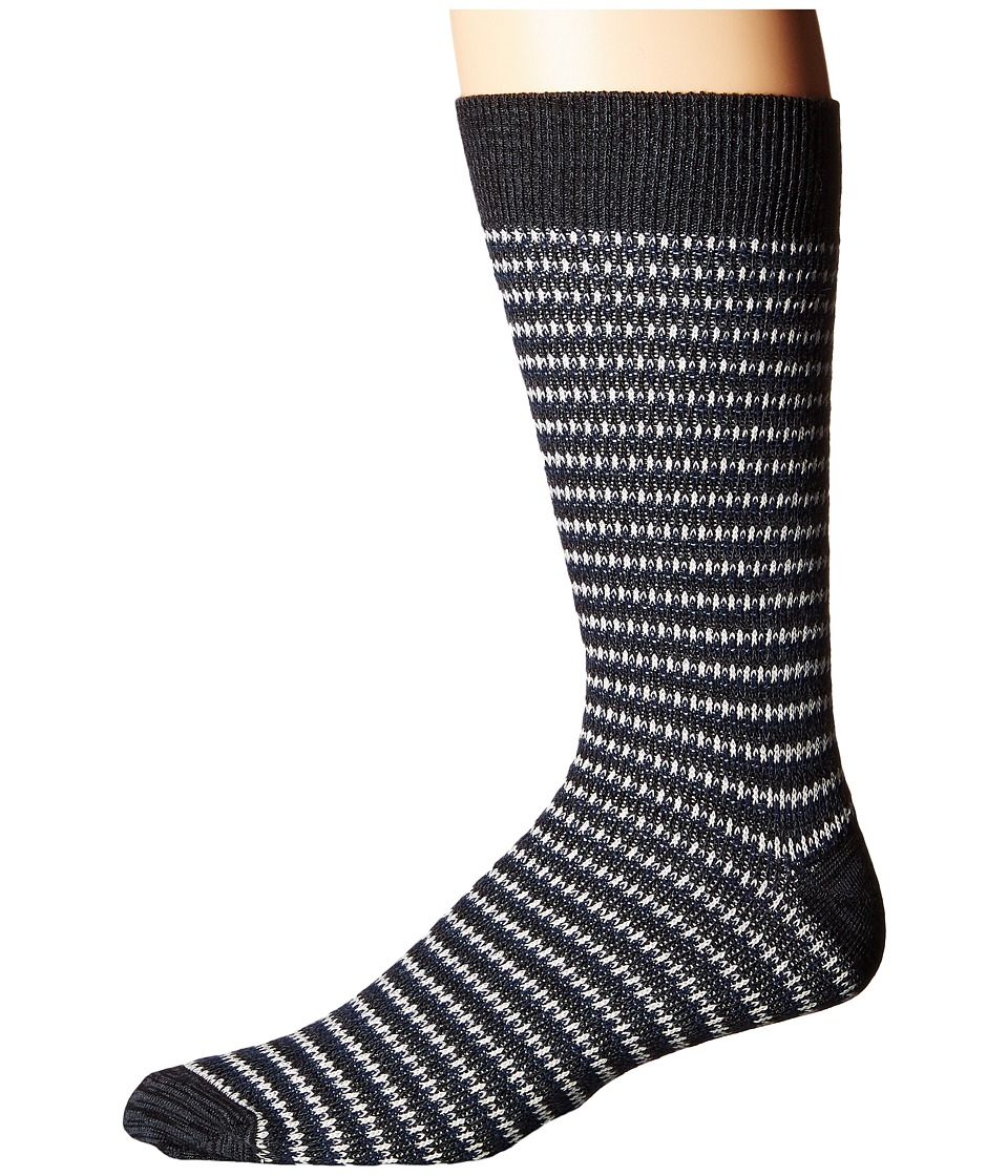 Richer Poorer - Lobos (Grey) Men's Crew Cut Socks Shoes