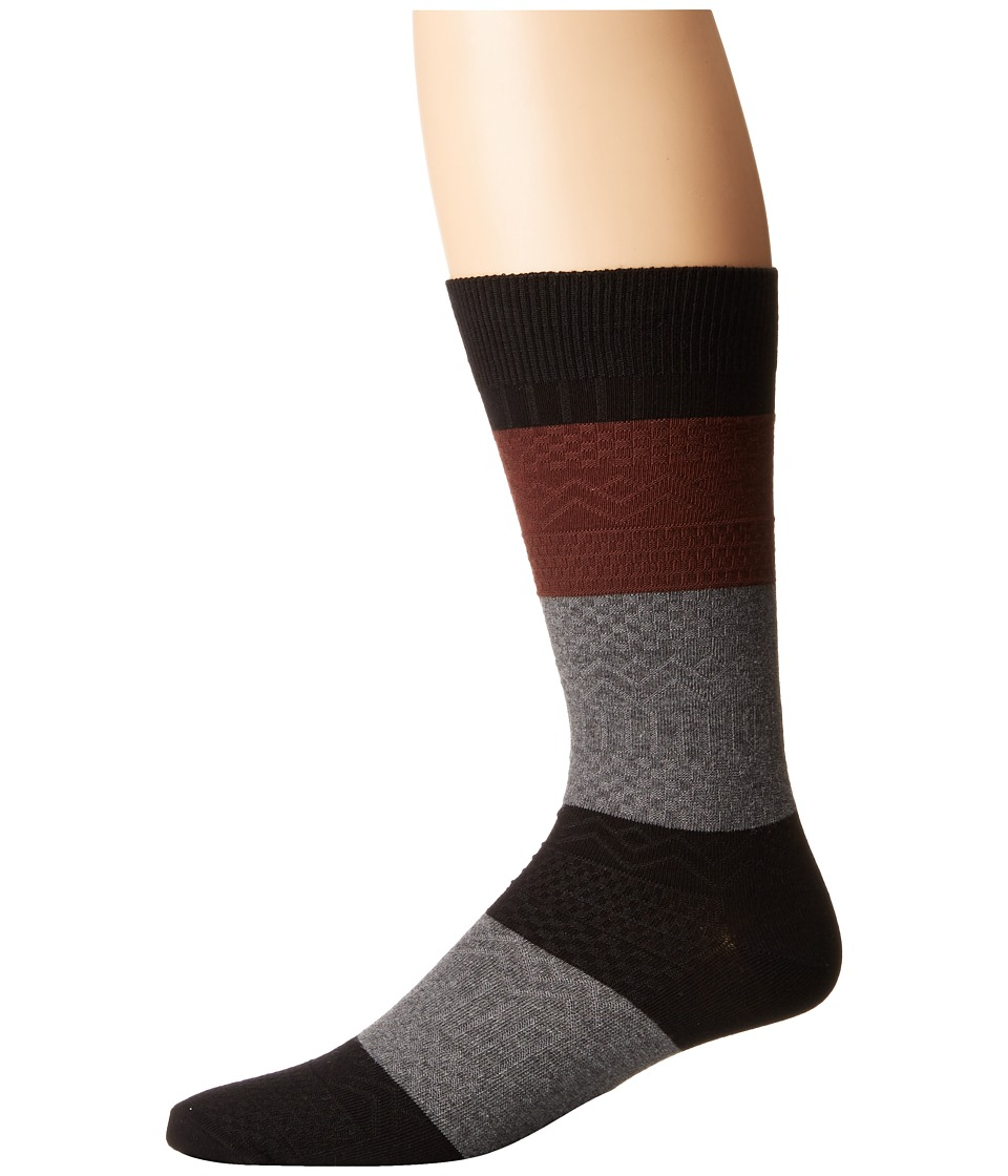 Richer Poorer - Gilgamesh (Black Multi) Men's Crew Cut Socks Shoes