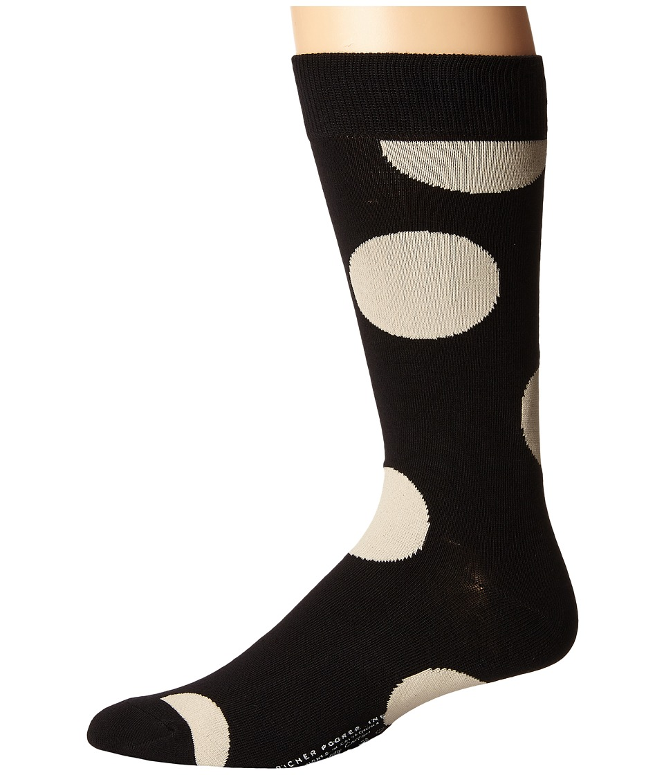 Richer Poorer - Herald (Black) Men's Crew Cut Socks Shoes
