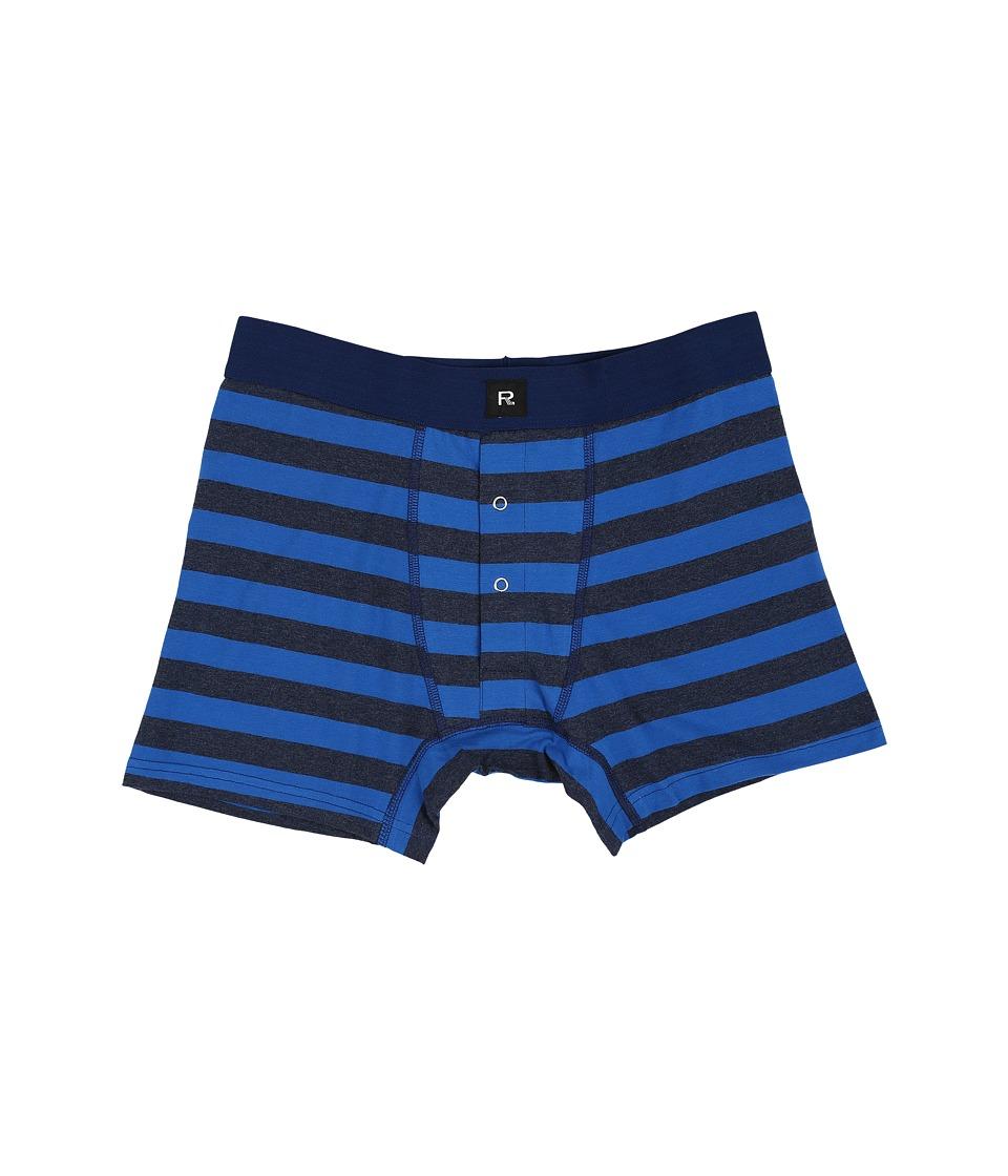 Richer Poorer - Theo Boxer Brief (Indigo) Men's Underwear