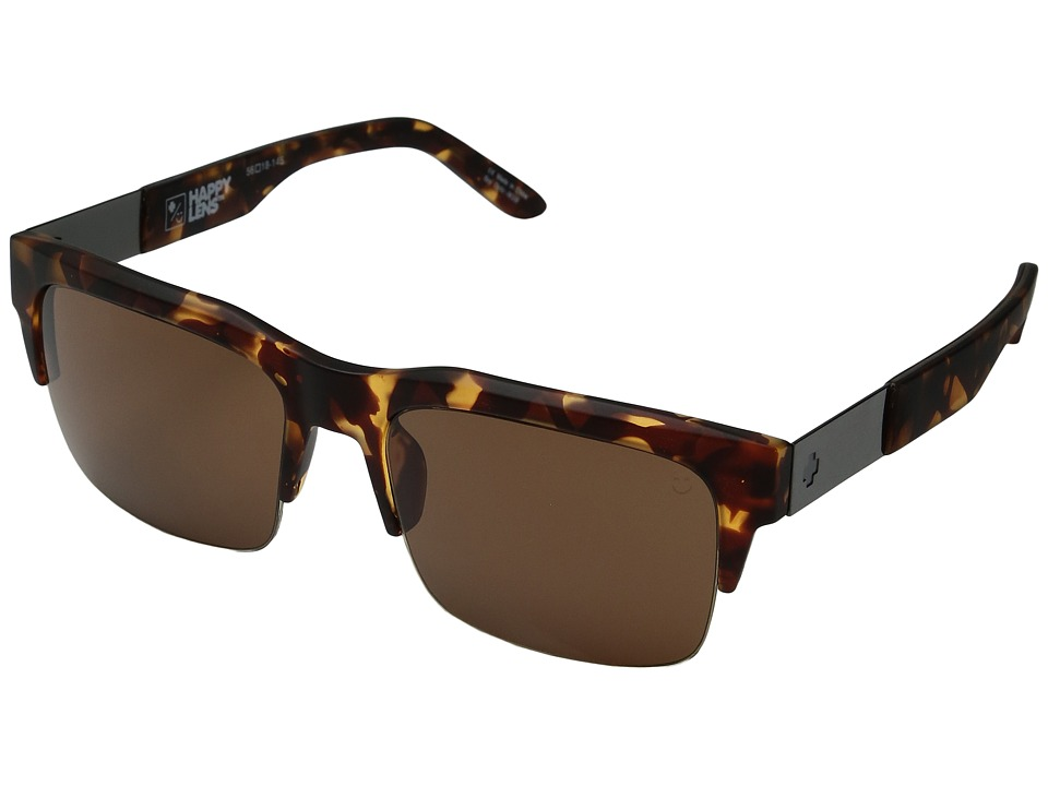 Spy Optic - Malcolm (Soft Matte Camo Tort/Happy Bronze) Fashion Sunglasses