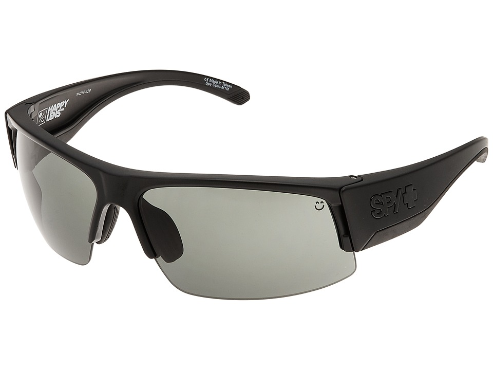 Spy Optic - Flyer (Matte Black/Happy Gray Green + Happy Rose + Clear) Fashion Sunglasses