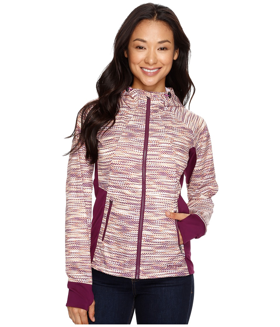Marmot - Muse Jacket (Deep Plum Blink) Women's Coat