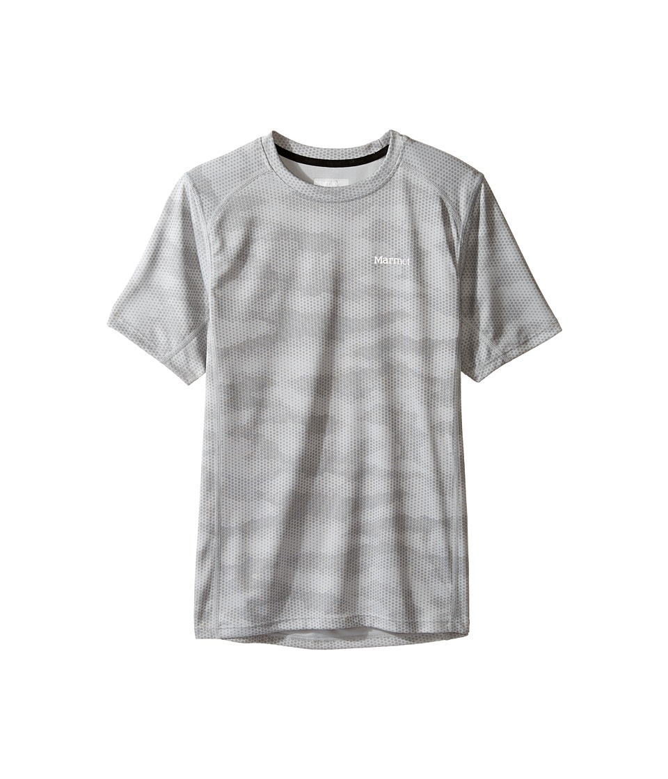Marmot Kids - Cyclone Short Sleeve Shirt (Little Kids/Big Kids) (Bright Steel Hide) Boy's T Shirt