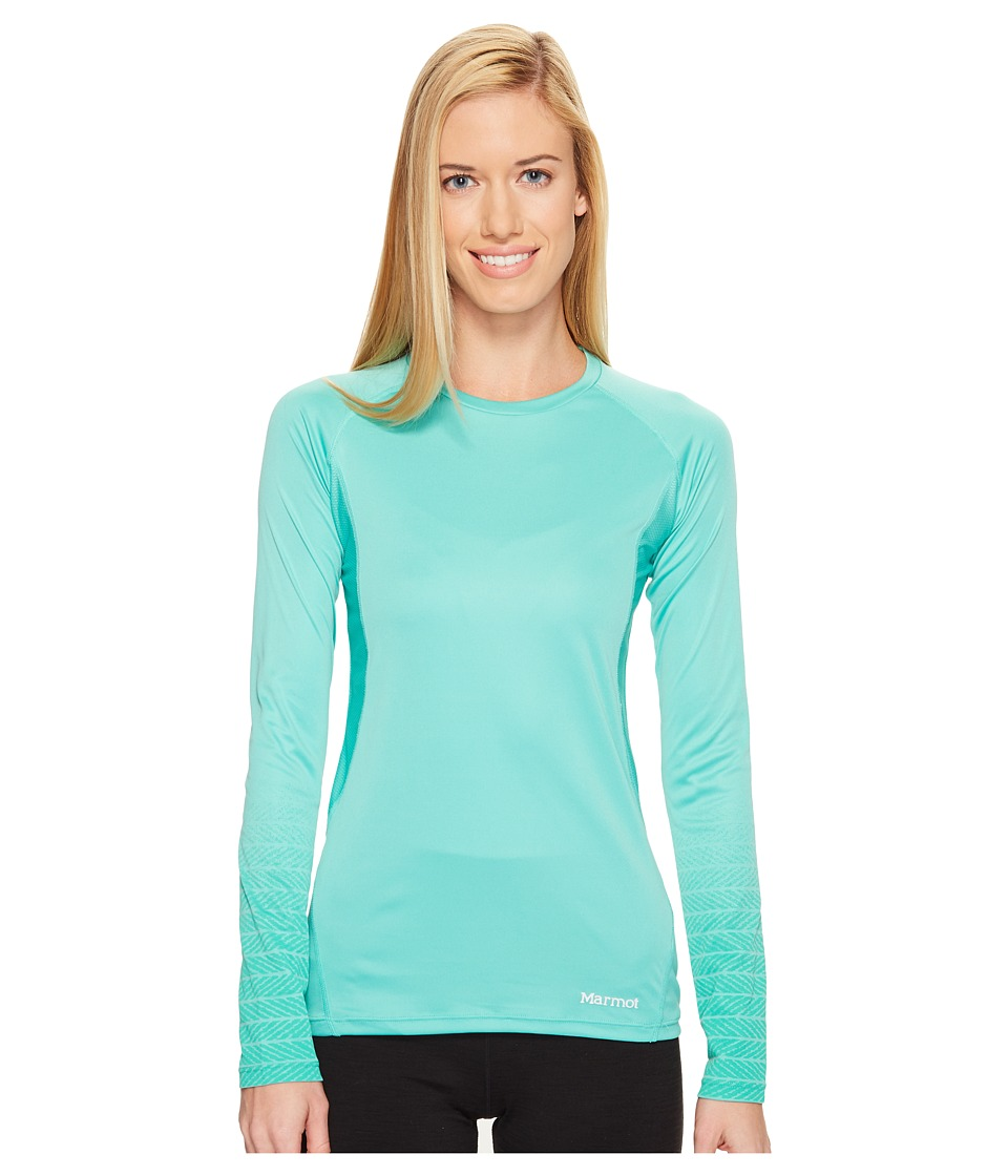Marmot - Crystal Long Sleeve (Celtic) Women's Long Sleeve Pullover