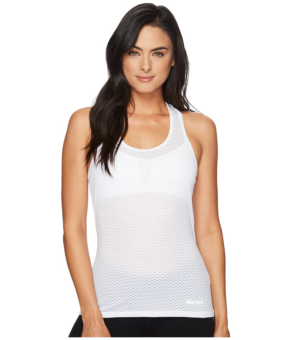 Marmot - Intensity Tank Top (White) Women's Sleeveless