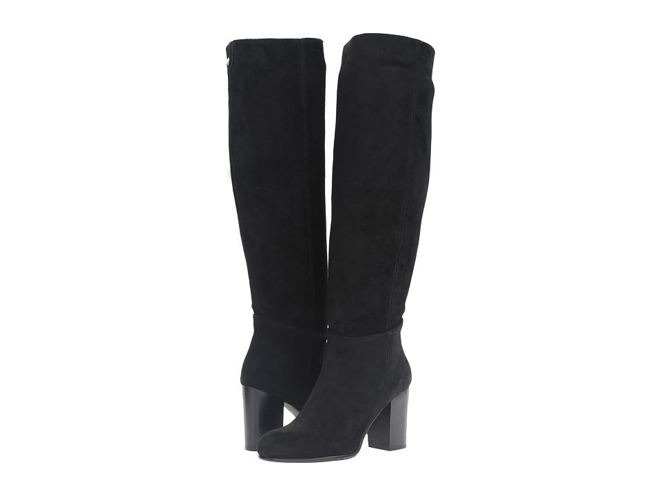 Sam Edelman - Silas (Black Velour Suede Leather) Women's Shoes