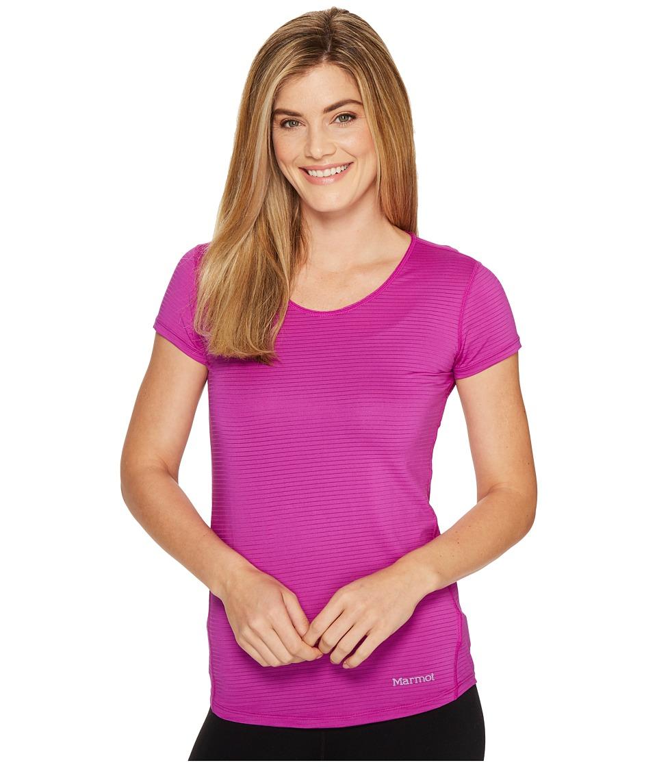 Marmot - Aero Short Sleeve (Neon Berry) Women's T Shirt