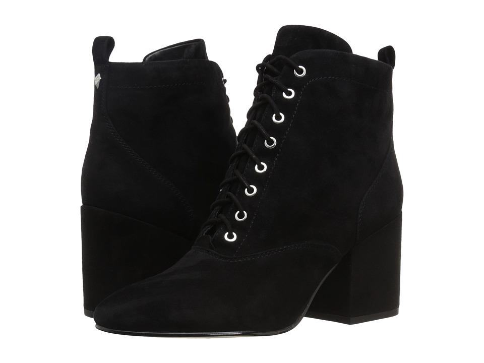 Sam Edelman - Tate (Black Kid Suede Leather) Women's Shoes