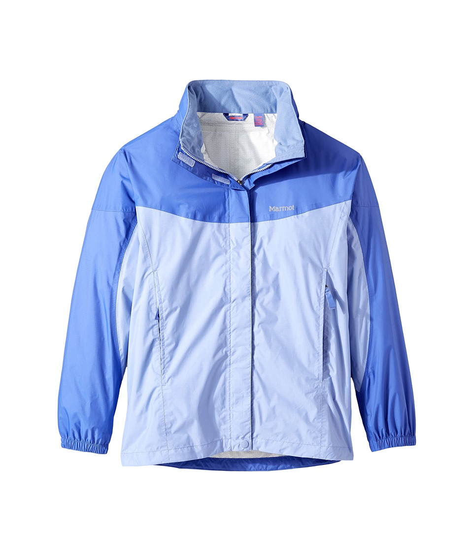 Marmot Kids - Girl's PreCip Jacket (Little Kids/Big Kids) (Periwinkle/Spectrum Blue) Girl's Coat