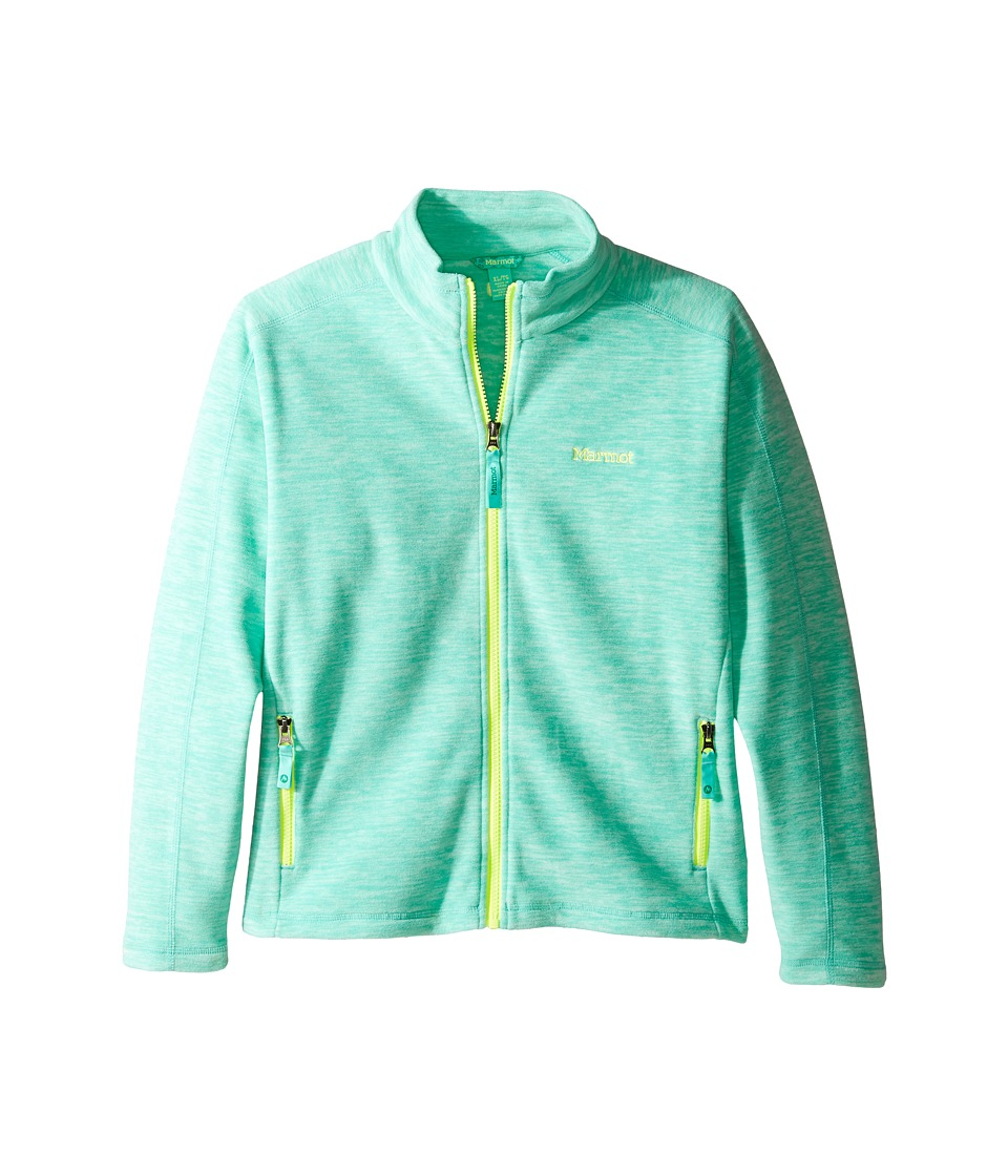 Marmot Kids - Lassen Fleece (Little Kids/Big Kids) (Celtic Green) Girl's Fleece