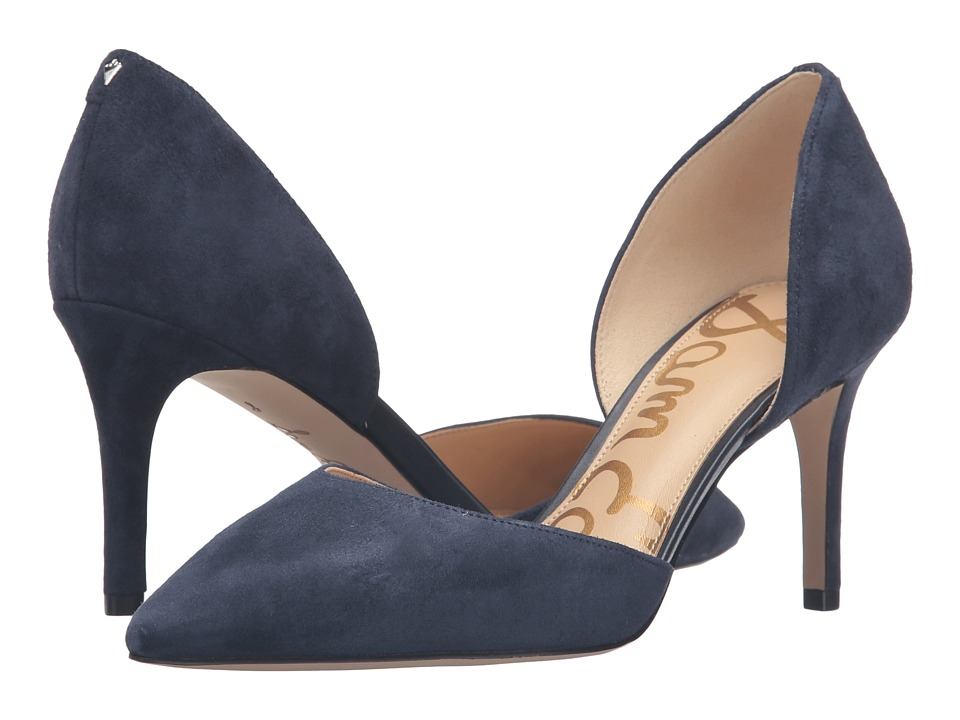 Sam Edelman - Telsa (Inky Navy Kid Suede Leather) Women's Shoes