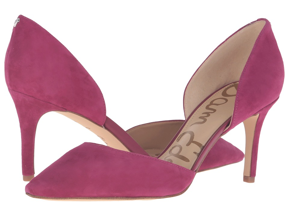 Sam Edelman - Telsa (Pink Garnet Kid Suede Leather) Women's Shoes