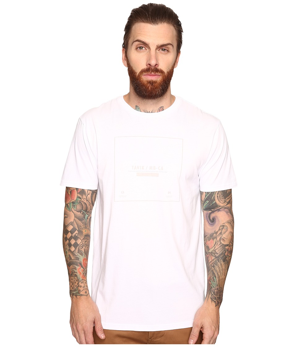 Tavik - Kin Short Sleeve T-Shirt (White) Men's T Shirt