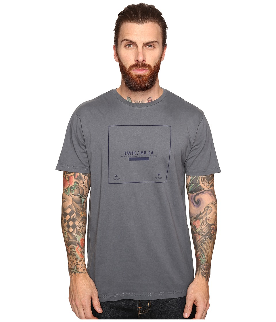 Tavik - Kin Short Sleeve T-Shirt (Concrete) Men's T Shirt