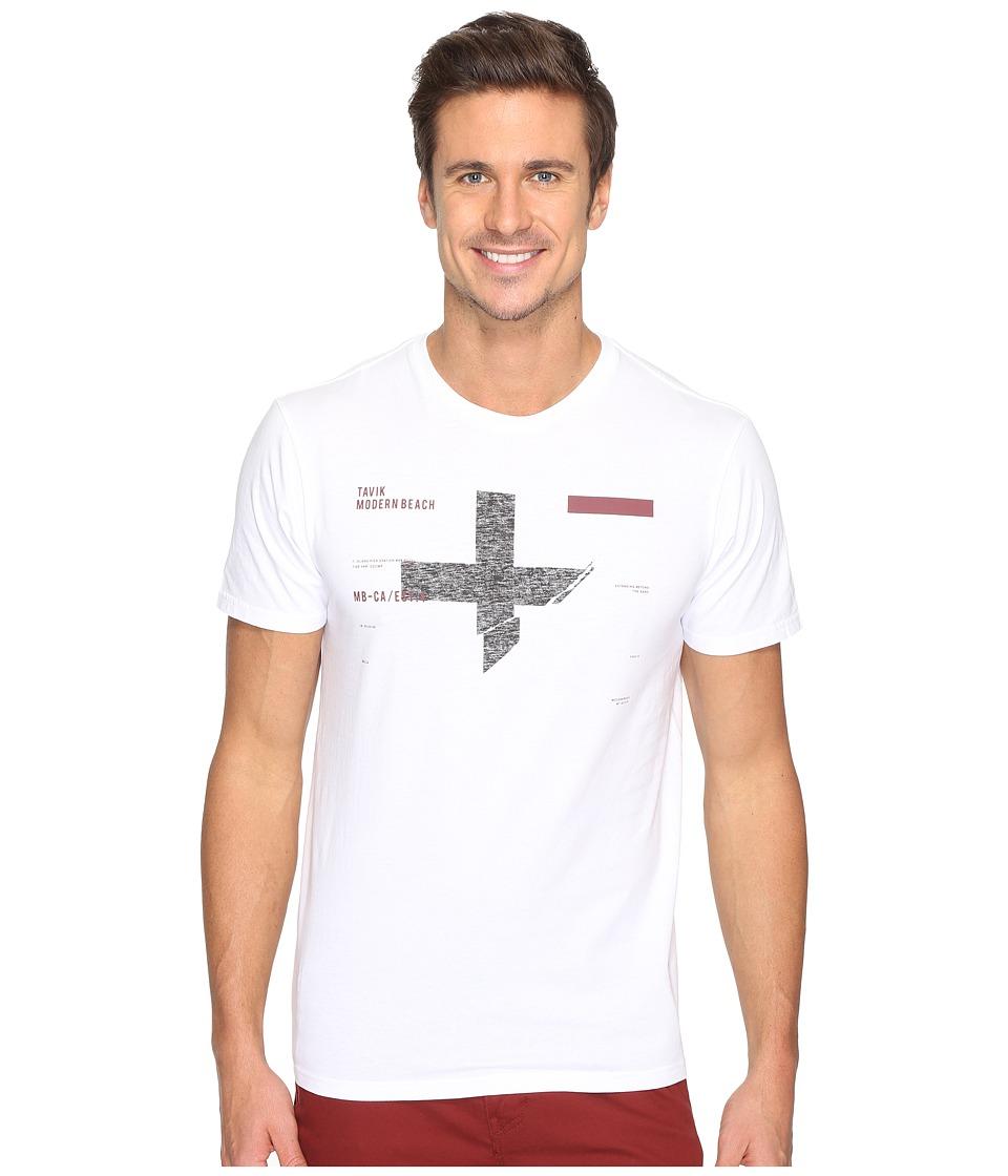 Tavik - Caliber Short Sleeve T-Shirt (White) Men's T Shirt