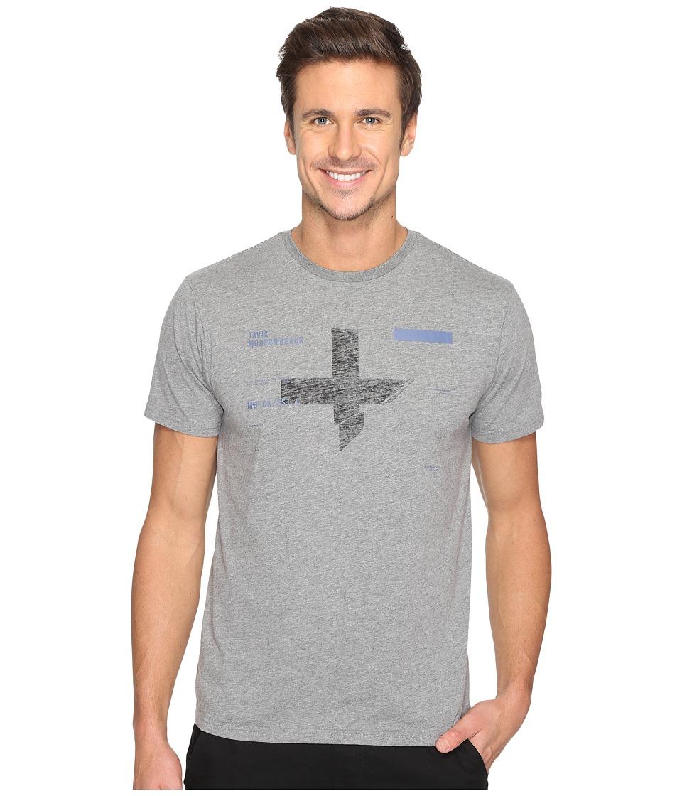 Tavik - Caliber Short Sleeve T-Shirt (Heather Grey) Men's T Shirt