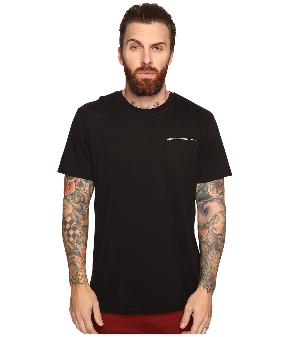 Tavik - Eli Short Sleeve Pocket T-Shirt (Black) Men's T Shirt