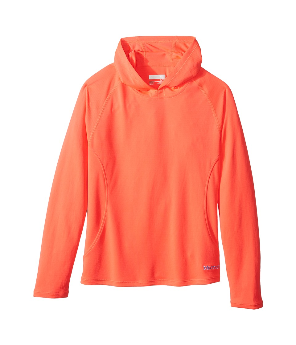 Marmot Kids - Kylie Hoody (Little Kids/Big Kids) (Bright Pink) Girl's Sweatshirt