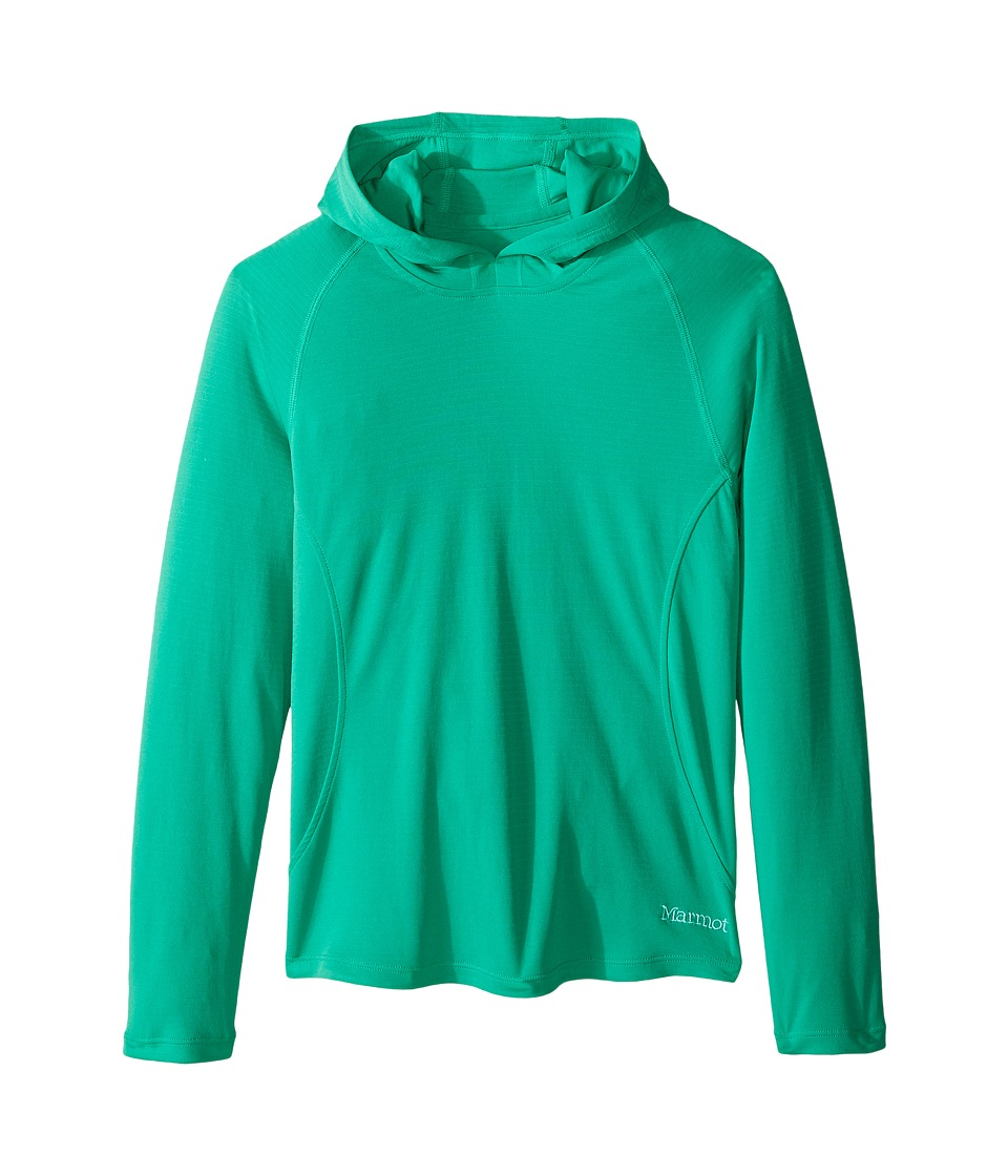 Marmot Kids - Kylie Hoody (Little Kids/Big Kids) (Turf Green) Girl's Sweatshirt