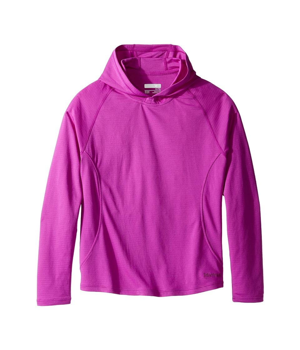 Marmot Kids - Kylie Hoody (Little Kids/Big Kids) (Neon Berry) Girl's Sweatshirt